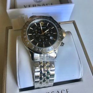 Versace chrono signature stainless steel 44mm